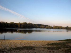 Gleich nebenan ..der Halberstädter See