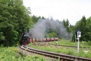 Schierke – Harzquerbahn bei Drei Annen Hohne